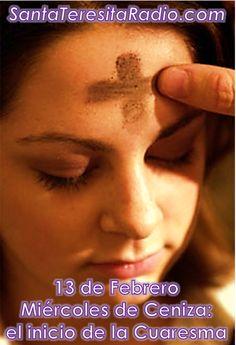 Santa Teresita - PATRONA DE LAS MISIONES - Ash Wednesday