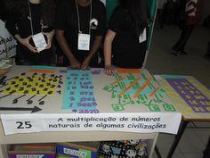 alunos apresentando trabalho na Feira de ciências de Caçapava do Sul - UNIPAMPA