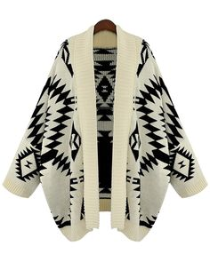 Tribal Batwing Cardigan