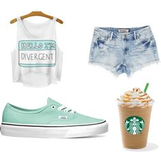 Chil'n by caligirl43 on Polyvore featuring polyvore, fashion, style and Vans