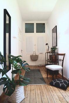 So schaut`s aus im Flur... Das Körbchen an der Tür wartet schon auf den Einsatz... Wochenendeinkauf :relaxed: