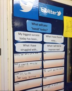 Twitter for 6 year olds: a great reflection strategy from @AndrewDMorrish and @VicParkAcademy