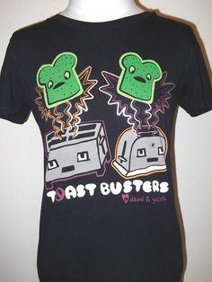 Toastbuster Womens Jr Tee T Shirt David Goliath Toast Busters Need in a medium!