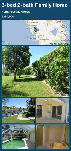 3-bed 2-bath Family Home in Punta Gorda, Florida ►$369,900 #PropertyForSale #RealEstate #Florida http://florida-magic.com/properties/15074-family-home-for-sale-in-punta-gorda-florida-with-3-bedroom-2-bathroom
