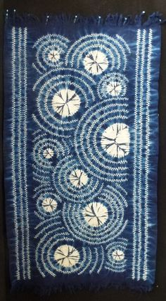 Shibori exhibited at Cotton Poem, a collection of Japanese quilts at the Australasian Quilt Convention.