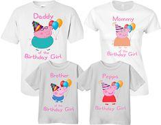 Peppa Pig Peppa Pig camisas Mummy Pig cerdo de Daddy