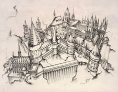 Hogwarts castle by Andette on deviantART