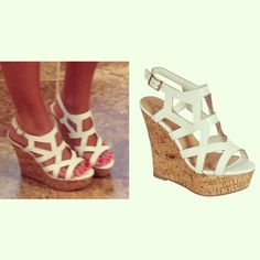 Summer Staple! These wedges are so cute and will make any dress look 10x better! Don't miss out on these ladies!