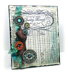 card designed by Linda Duke,