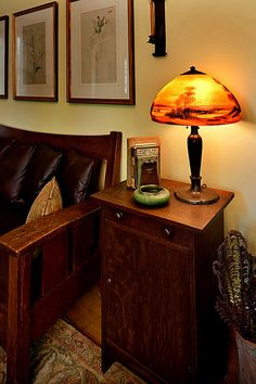 Gustav Stickley Vice Cabinet, Ca. 1910 by tudorhead, via Flickr