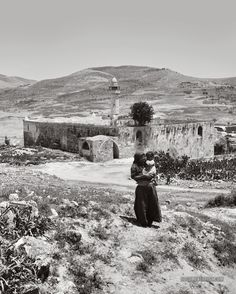 Nabi Yahya Mosque, Sebastia, near Nablus. Palestine. 1900-1920
