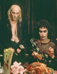 Tim curry and Richard O'Brien the rocky horror picture show