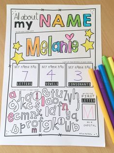 Trace and Make Letter Crafts