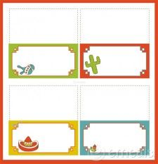 potluck label cards- free printable