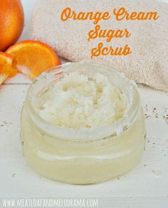 Orange Cream Sugar Scrub