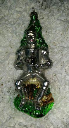 AUTHENTIC-RETIRED POLONAISE ORNAMENT - The Wizard of OZ/TIN MAN AP1061