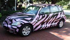 Jo Pearson car wrap