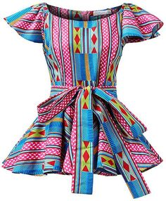 20 Best Ankara Tops in Unique African Print Tops Worth Wearing - - Discover the hottest African print ankara tops in Ankara styles like peplum tops, off-shoulder tops, and crop tops guaranteed to be a hit! African Fashion Ankara, Latest African Fashion Dresses, African Dresses For Women, African Print Dresses, African Print Fashion, African Attire, African Wear, African Women, African Prints