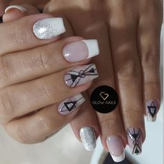 Luxury Nails, Dope Nails, Short Nails, Manicure And Pedicure, My Beauty, Nail Art Designs, Finger, Glow, Nail Polish