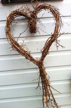 willow vine heart