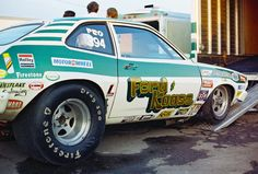 Vintage Drag Racing - Pro Stock - Ford + Kaase