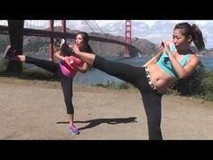 http://www.blogilates.com Total body kick boxing workout with Cassey from POP Pilates and her sister Jackelyn, certified kickboxing instructor!    WATCH THE KICKBOXING BASICS VID BEFORE YOU START: http://www.youtube.com/watch?v=OolGXEOwQfw    READ MY BLOG: http://www.blogilates.com  FACEBOOK FAN: http://www.facebook.com/blogilates  FOLLOW ME: ht...