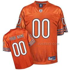 http://www.xjersey.com/chicago-bears-men-customized-orange-jersey.html CHICAGO BEARS MEN CUSTOMIZED ORANGE JERSEY Only 70.96€ , Free Shipping!