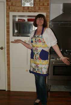 What is your theme, for your apron? made by Fried Green Aprons