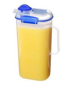 2 Litre Clip /& Lock Plastic Juice Drinks Jugs Storage Kitchen Party Jug New