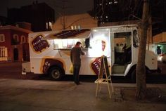 The Dessert truck, at a wedding.  Yes.