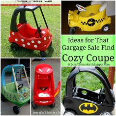 2 Crafty 4 My Skirt: Round Up ~ Cozy Coupe