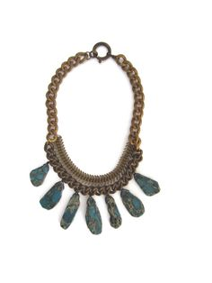Nagaland Necklace by GracelandJewelry on Etsy, $125.00