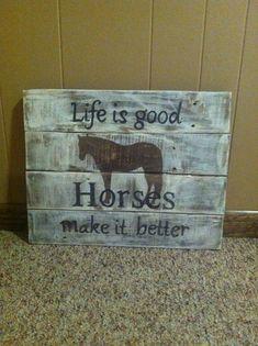 Horse pallet