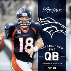 Peyton Manning now a Bronco