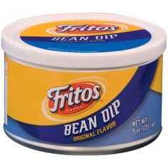 FRITOS Bean Dip is a creamy, blended bean dip that goes great with Fritos Corn Chips. This bean dip is conveniently portable for sharing some delicious fun at home. Frito Bean Dip Recipe, Fritos Bean Dip, Bean Dip Recipes, Yummy Recipes, Frito Lay Chips, Corn Chips, Lays Flavors, Mexican Dips, French Onion Dip