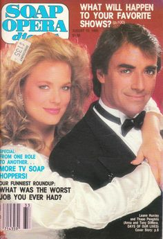 Soap Opera Digest August 13 1985 #LeannHunley #DeboraShelton #RobynBernard # soaps #eBay