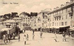 STURLA - Via Tritone - FOTO STORICHE CARTOLINE ANTICHE E RICORDI DELLA LIGURIA