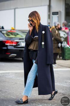 Ramya Giangola Street Style Street Fashion Streetsnaps by STYLEDUMONDE Street Style Fashion Photography @coveteur