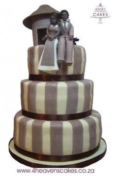 African Wedding Cake Designs 4 heavens cake african