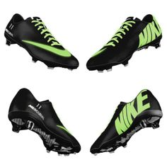 I WANT THESE CLEATS!!!! Glow in the dark nike cleatsV
