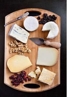 Cheese, please. Craft the perfect hostess offering with artisinal cheeses on a perfectly priced hand crafted cutting board that doubles as a serving plate.