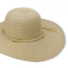 247a5797cb5be Beach Straw Floppy Hat For Women By Debra Weitzner - Large