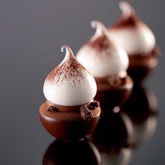 Mini Chocolate Dessert. By @jlandrieuchef #ChefsOfInstagram