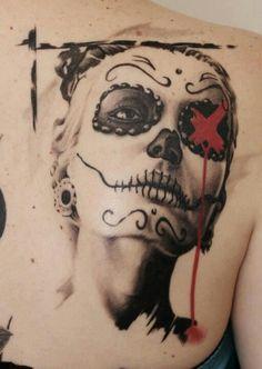 Trash Polka is my new favorite tattoo style