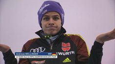 Andreas Wellinger, Ski Jumping, Olympic Champion, 22 Years Old, Dream Team, Reaction Pictures, Olympics, Skiing, Sports