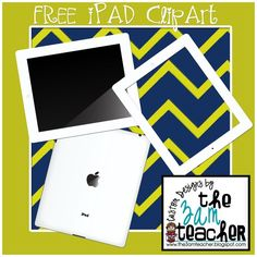 Free iPad Clip Art (Graphics) by The 3AM Teacher!!!