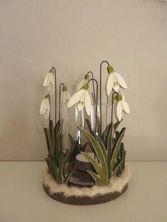 Schneeglöckchen - Windlicht von Woodlouse auf DaWanda.com