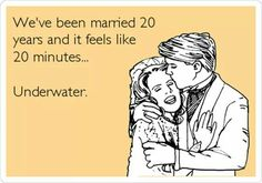 Not my marriage but just thought it was funny....in case you were wondering.