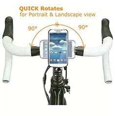 5.5 2016 Calmpal iPhone 7 Plus Bike Phone Mount Holder with Riding Case.2 In 1 Combination of Bike Stem cap /& Handlebar Phone Mount System with Riding Cycling Case for iPhone 7 Plus