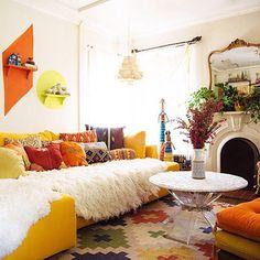 Inside the Instagram-Worthy House of Design Blogger Justina Blakeney - 7x7 Bay Area